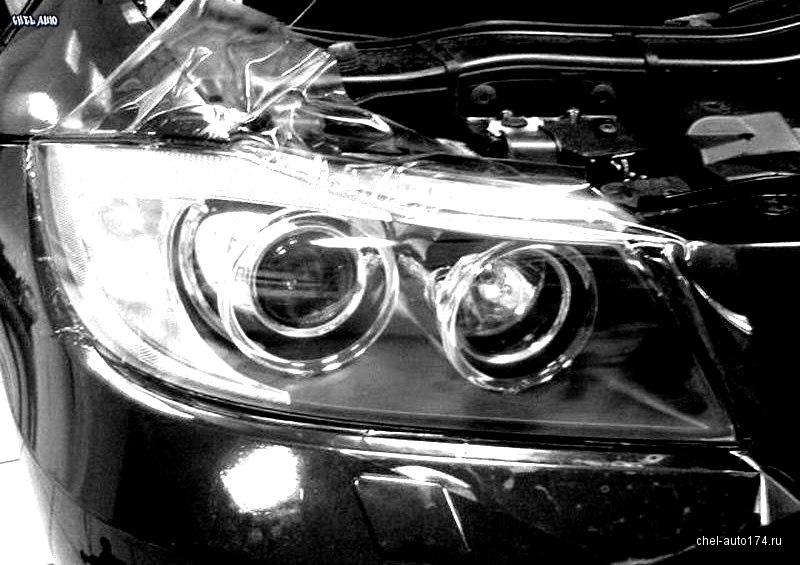 бронирование передней части автомобиля, стоимость всего от 10000 руб