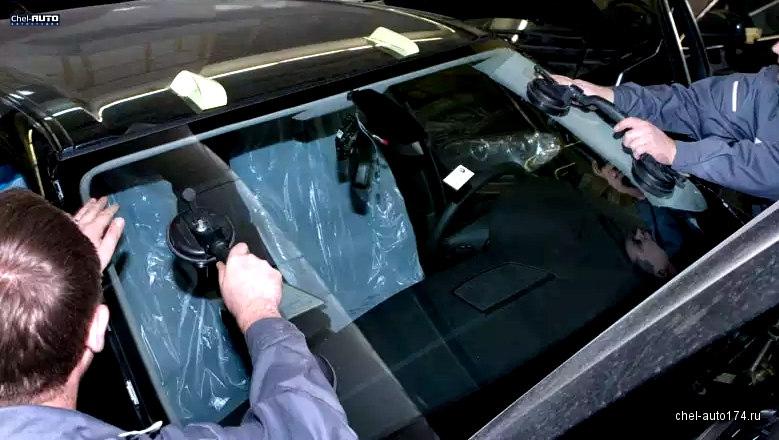 Вклейка авто стекла в Челябинске